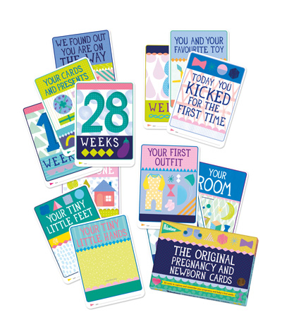 Milestone The Pregnancy and Newborn Cards - ENG