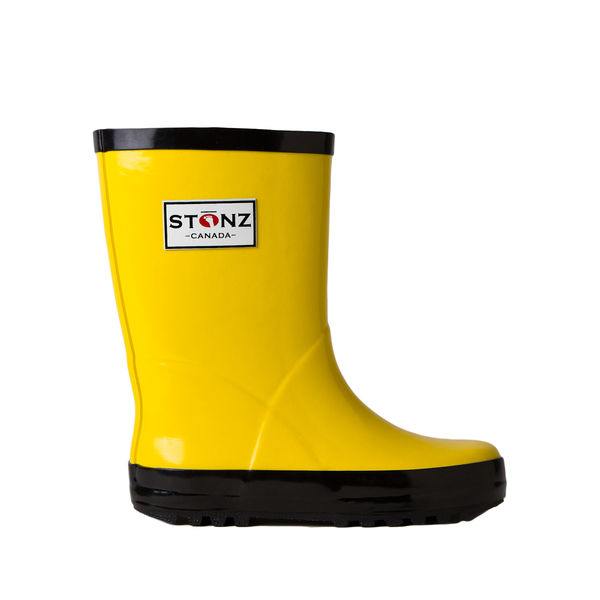 Rain Bootz - Yellow/Black