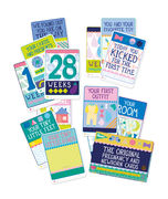 Milestone The Pregnancy and Newborn Cards - FIN