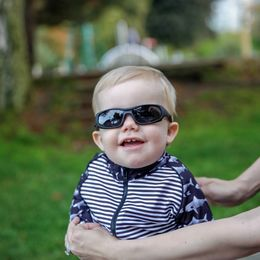 Sunnies - Baby Sport - Black - 0-2v