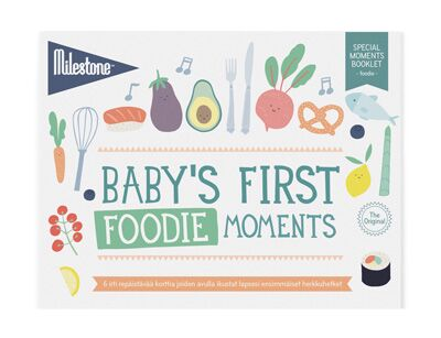 Baby's first foodie moments
