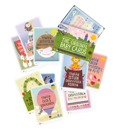 Milestone The Original Baby Cards FI