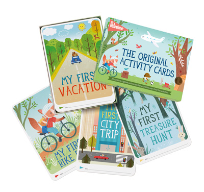Milestone The Original Activity Cards - ENG